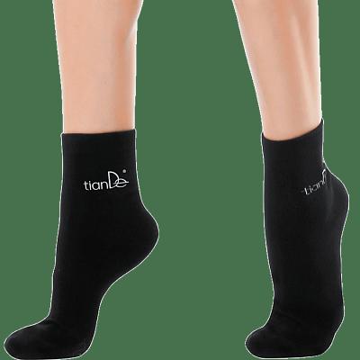 Cotton Socks with Tourmaline Spot Coating